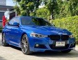 จองให้ไว BMW Series 3 ActiveHybrid M Sport Package สีพิเศษ Estoril-blau Metallic ปี 2013
