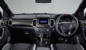 ภายในของ Ford Ranger Raptor 2019