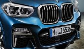 การดีไซน์ภายนอก BMW X3 2019