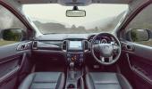 การดีไซน์ภายในของ Ford Ranger FX4