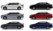 สีตัวถัง Honda City Hybrid e:HEV 2021