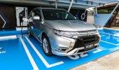 การออกแบบดีไซน์ภายนอก Mitsubishi Outlander PHEV 2021