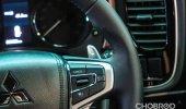 การออกแบบดีไซน์ภายใน Mitsubishi Outlander PHEV 2021
