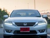 จัดได้เต็ม ฟรีดาวน์ได้ พร้อมการันตีซ่อมศูนย์hondaให้2ปีหรือ20000km Honda Accord 2.0 EL ปี2013 AUTO สีบรอนส์เงิน