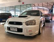 ขาย Subaru impreza ตาเหยี่ยว STI สีขาวแท้ รถปี 2006\
