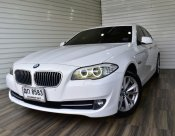 BMW 520D F10 2.0 SE sedan auto ปี2012 สีขาว รถสวย พร้อมใช้