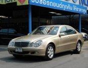 รถสวย ใช้ดี MERCEDES-BENZ E220 CDI รถเก๋ง 4 ประตู