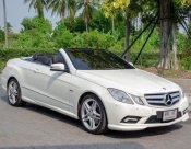 Mercedes-benz e200 amg cabriolet blueeficiency w207 sport 1.8 at coupe 2012