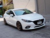 Mazda 3 2.0 S ปี14 สีขาว รถสวยมือเดียวขับดีไม่แก็สเครื่องฟิตช่วงล่างแน่นภายในดำออฟชั่นพร้อมใช้เล่มพร้อมโอน