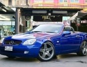 1997 Mercedes-Benz SLK230 Kompressor convertible
