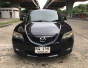 ฟรีดาวน์ MAZDA 3 1.6V ปี 2006 สีดำ รถสวย สภาพพร้อมใช้งาน ภาษีไม่ขาด