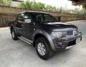 2012 MITSUBISHI TRITON 2.5 PLUS 4DR 4WD สีเทาดำ ขายด่วน พร้อมใช้งาน