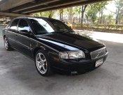 2003 VOLVO S80 2.3T สีดำ ติดแก๊ส ขายถูก พร้อมใช้งาน ขายด่วน