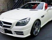 Benz SLK 250 Matt White Option ปี 2012