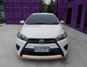 Toyota (New) Yaris  5 ประตู 1.2  (J) VVT-I ปี2017 เกียร์ออโต้ สีขาว