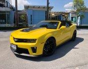 Chevrolet Camaro ZL1 V8 สีเหลือง ปี 2014