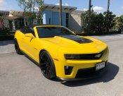 Chevrolet #Camaro ZL1 V8 สีเหลือง ปี 14