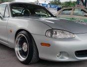 รถออกศูนย์ไมล์น้อย Mazda MX-5 เกียรธรรมดา1.8 ปี2002 airbag abs