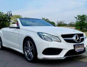 Benz E200 Cabriolet AMG Package ปี2014