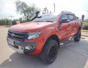 (8 กผ 704) FORD RANGER DOUBLE CAB 3.2 HI-RIDER 4 WD WILD TRACK เกียร์ออโต้ ปี 2013