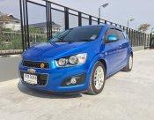 ขายรถ CHEVROLET SONIC 1.4 LT 5Dr ปี 2013 สีฟ้า