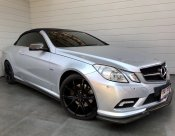 2012 Mercedes-Benz E250 CGI BlueEFFICIENCY AMG 1.8 W207 (ปี 10-16) Convertible AT