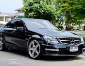 Benz C63 AMG Saloon Facelift ปี 2013