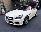 BENZ SLK 250 Matt White Option ปี2012