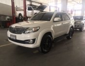 TOYOTA  FORTUNER 2.7V/AT ปี 2015