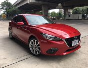 2015 MAZDA 3 2.0 S SEDAN สีแดง มือเดียว สภาพสวย ตัวท๊อป ขายถูก