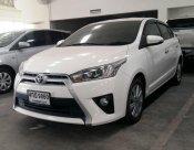 ขายรถ TOYOTA YARIS 1.2G ปี 2015 สีขาว