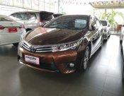 Toyota Altis 1.8 V NAVI 2014 รถเก๋ง 4 ประตู