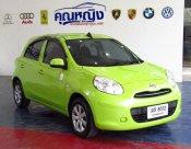 ขายรถ สภาพนางฟ้า 2012 Nissan March 1.2 (ปี 10-16) E Hatchback AT