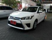 ขายรถ TOYOTA YARIS 1.2E ปี 2016 สีขาว