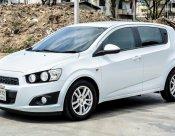 CHEVROLET SONIC 2013 (โฉม12-15) LT Hatchback 1.4 A/T สีขาว