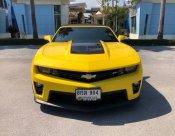 Chevrolet Camaro ZL1 V8 สีเหลือง ปี 14