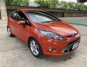 2011 FORD FIESTA 1.6 S SPORT สีส้ม ไม่แก๊ส รถสวยพร้อมใช้ ขายถูก