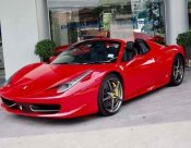 2014 Ferrari F430 Spider convertible