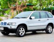 BMW X5 2002 E53 (โฉม99-06) SUV 3.0 AT สีเงิน