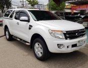**ฟรีดาวน์** Ford Ranger Open Cab 2.2 Hi-Rander XLT –MT ปี 2015 สีขาว
