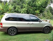 รถดี ราคาถูก KIA Grand Carnival 2.4 AUTO รุ่น CEOII 2004 สีทอง เบนซิน