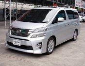 ปี09 Toyota Vellfire 2.4 V  ฟรีดาวน์ รถทรงสวยไฟฟ้าทั้งคันขับดีภายในกว้างนั่งสบาย