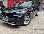 BMW X1 Diesel 2012 สีดำ ภายในแดง เครื่องยนต์ดีเซลสุดประหยัด