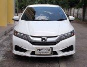 Honda City 1.5 S ปี14 สีขาว รถสวยขับดีไม่แก็สเครื่องช่วงล่างแน่นสมบูรณ์พร้อมใช้
