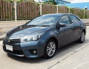 ALL NEW TOYOTA COROLLA ALTIS 1.8 G ปี 2014 สีเทา Gray Metallic เกียร์AUTO