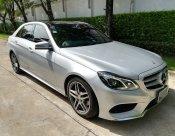 รถสวยราคาดี รถผู้บริหาร ไมล์น้อย มือเดียว  Mercedes Benz E300 Diesel HYBRID Bluetec Executive AMG ปี 2014 สีเทา (Gray)