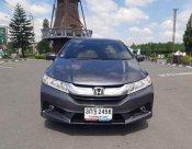 Honda City 1.5 SV AT 2014 สีเทา((ราคาพิเศษ)) ตัวท็อปไมล์8หมื่น