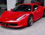 Ferrari 458 spyder 2014 ไมล์2หมื่น ของแต่งเต็มคัน