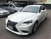 Lexus is300h 2.0 luxury sedan at สีขาว ปี 2014