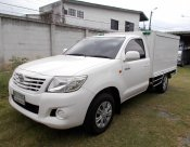 2011 Toyota Hilux Vigo Single J pickup 2.7เบนชิน ตู้เย็น